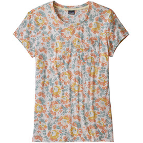Patagonia W's Mainstay Tee Aurea Blooms/Raw Linen